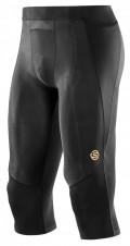 Pánské kompresní kalhoty | Total-sport.cz – Skins A400 Mens Black 3/4 Tights