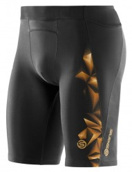 Značky – Skins A400 Mens Gold Half Tights
