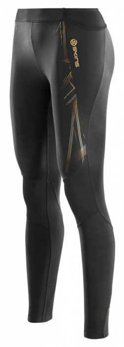 Skins A400 Womens Gold Long Tights