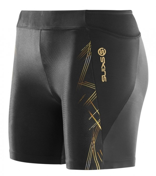 Skins A400 Womens Gold Shorts