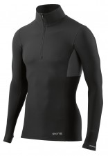 Pánská kompresní trička – Skins DNAmic Thermal Men's Compression Black/Charcoal